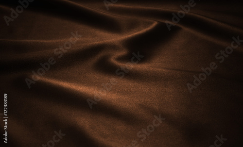 brown satin as background