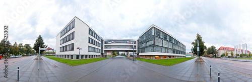 Valokuva  Gebäudekomplex Bauhaus in Dessau, Sachsen-Anhalt