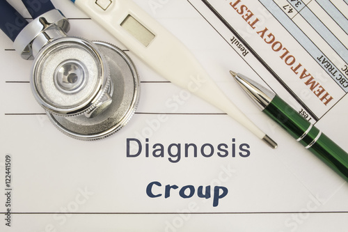 Valokuva  Diagnosis Croup