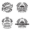 Bakery badge and logo icon