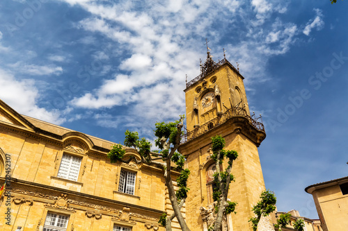 The town hall of Aix-en-Provence, France.