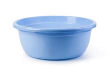 Blue Plastic Wash Bowl