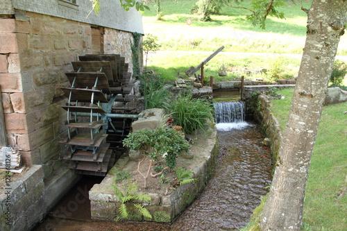 Foto op Aluminium Molens alte Wassermühle im Schwarzwald