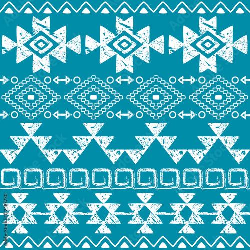 bez-szwu-navajo-recznie-rysowane-druk-retro-wzor-aztecki-tribal-design-z-zadrapaniami