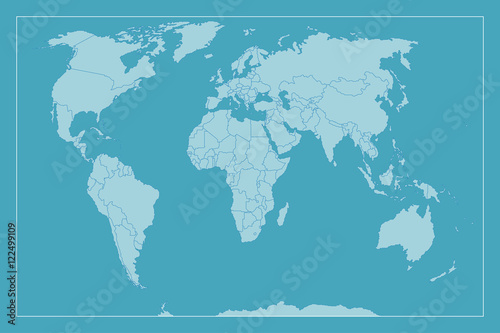 High detail world map all elements are separated in editable layers high detail world map all elements are separated in editable layers clearly labeled vector gumiabroncs Gallery