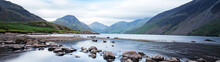 Dramatic Mountain Lake - Wasdale, Lake District, Cumbria, UK.