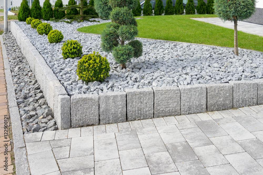 Fototapeta Moderne Gartengestaltung