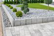 canvas print picture - Moderne Gartengestaltung