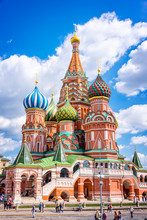 St Basil's Cathedral On Red Sq...