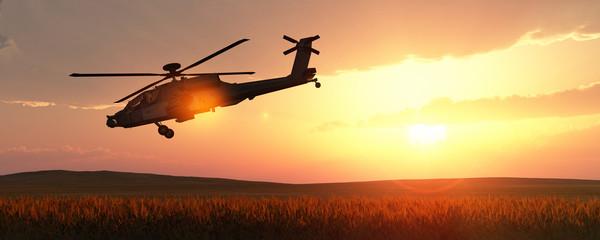 Fototapeta helicopter war