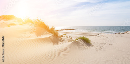 Foto op Plexiglas Noordzee Urlaub am Meer