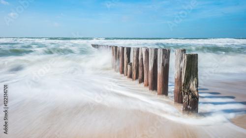 Spoed Foto op Canvas Noordzee Ab in den Urlaub...