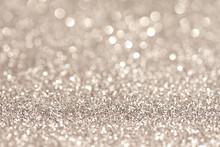 Silver Glittering Christmas Li...