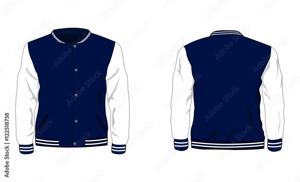 Fototapeta Sport varsity jacket