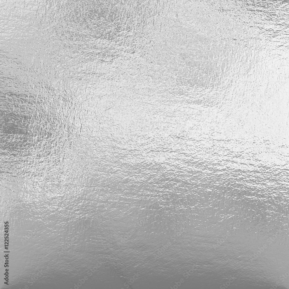 Fototapety, obrazy: Silver foil
