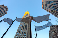 Famous Landmark - Rockefeller Center, New York City, USA
