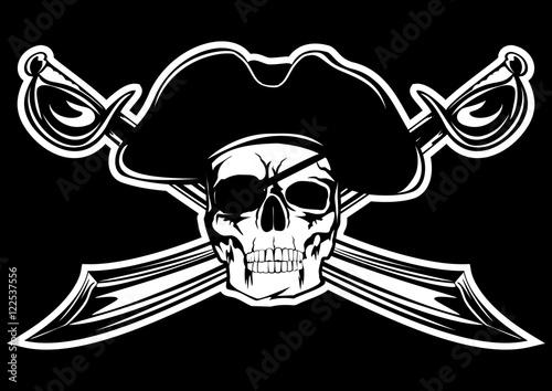 Plakat pirat