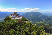 Overview From The Top Of The Eagles Nest, Kehlsteinhaus, Germany