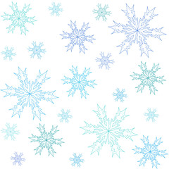 Fototapetawinter pattern