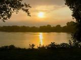 Fototapeta Krajobraz - Matin levé de soleil