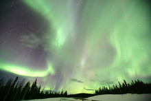 Aurora Borealis Or Northern Li...