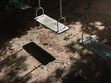 Swing Chairs Abandoned