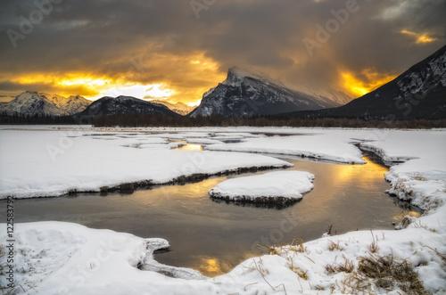 Mount Rundle, Banff National Park, Alberta, Canada