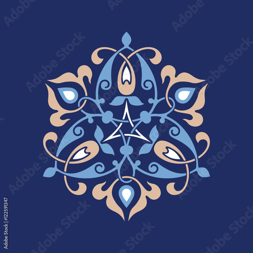 Fotografia  Ottoman decorative pattern
