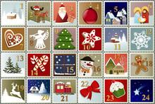 Advent Calendar With Christmas...