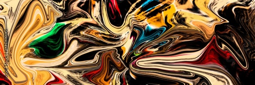 Fotografia  Abstracto de Colores y Formas Distorsionadas