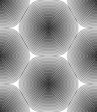 Black and white vector ornamental pattern, seamless art backgrou - 122634521
