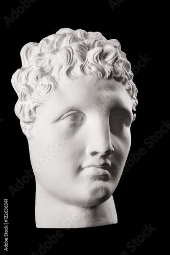 Fototapety, obrazy: plaster face, sculpture, mask, face a Greek
