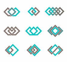 Modern Icon Design Logo Element Template. Best For Identity And Logotypes.