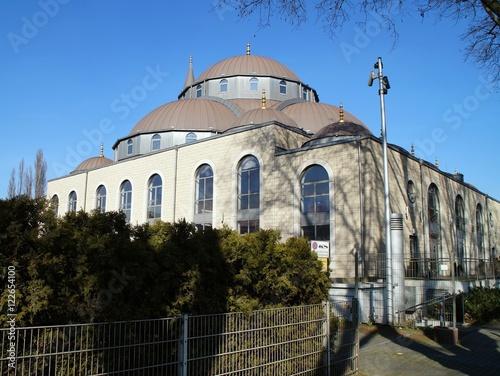 Printed kitchen splashbacks Theater Merkez Moschee Duisburg