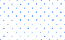 Seamless Watercolor Abstract Dots Pattern Hand Painted Background