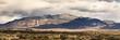 Desert mountain range, panorama