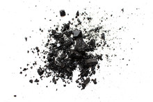 Charcoal Isolated On White Bac...