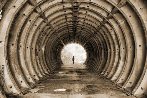 Fotografie, Obraz  Abandoned bunker