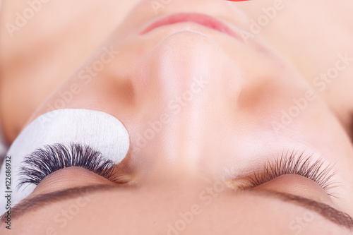 Fotografie, Obraz  Eyelash Extension Procedure