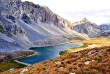 Lake Of Roburent In The Mounta...
