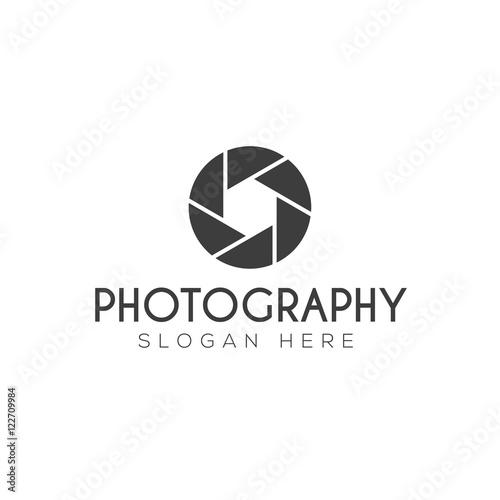 Fototapeta Photography logo creative design vector obraz na płótnie