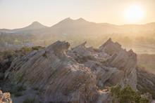 Vasquez Rocks Sunset