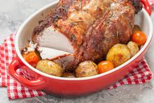 Boneless Pork Loin Roast With Potatoes