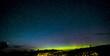 Isle of Skye Northern Lights and stars