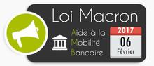 Loi Macron : Aide Mobilité Bancaire