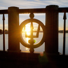 Trident Symbol At Bridge Banis...