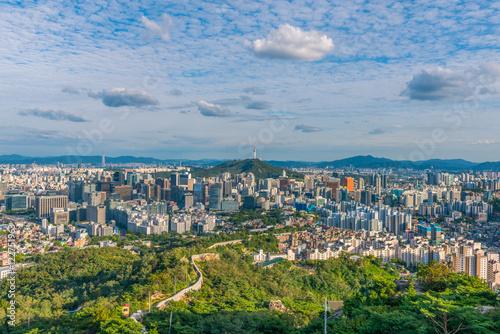 Photo  Seoul City Skyline, South Korea