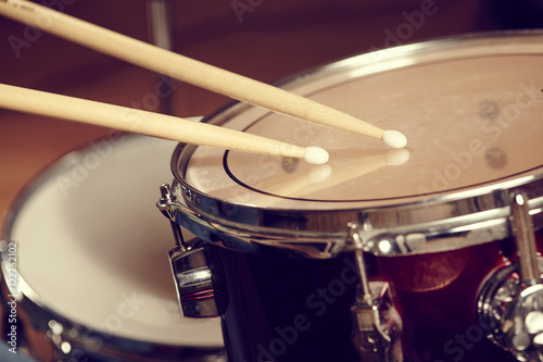 Fotografía  Drums conceptual image