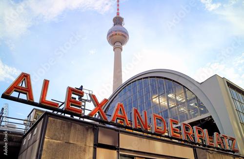 Bahnhof Berlin Alexanderplatz Wallpaper Mural