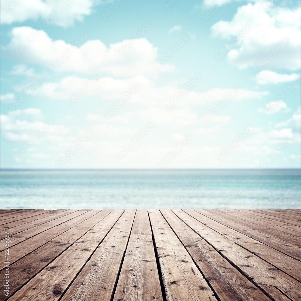 Fototapety, obrazy: Summer vacation background